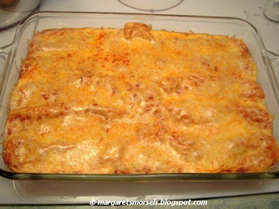 Margaret's Morsels | Easy Beef Enchiladas