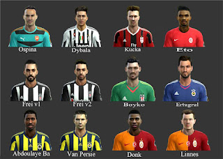 First Facepack Pes 2013 by-AbdKursun7