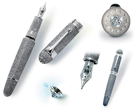 The Aurora Diamante pulpen paling mahal di dunia