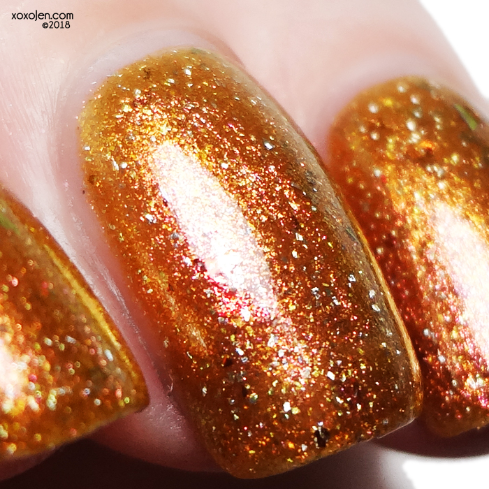 xoxoJen's swatch of Mace Polish Happy Fun Sauce