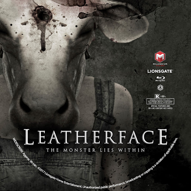 Leatherface Bluray Label