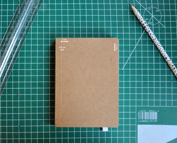 Zelf een notitieboekje borduren, stap voor stap
