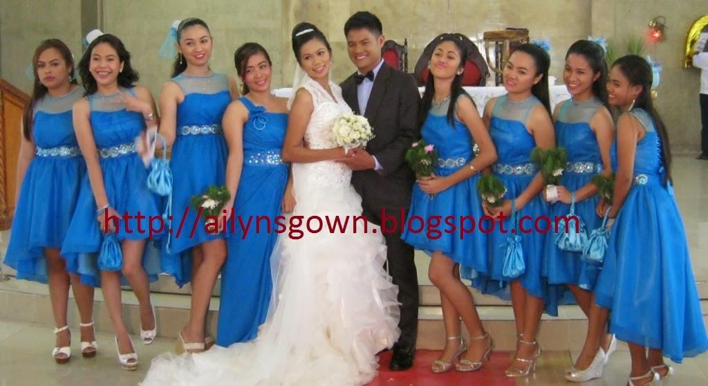 Ailyn\'s Gown: Wedding Entourage