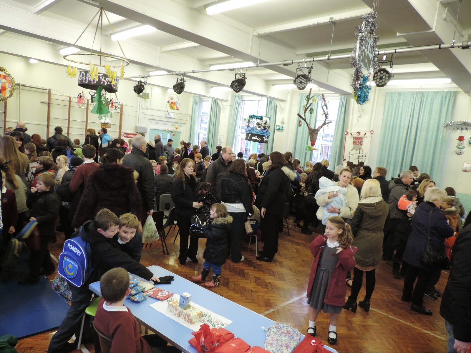 meon junior school milton portsmouth christmas fair