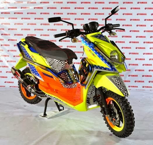 Modifikasi Motor Yamaha X-Ride