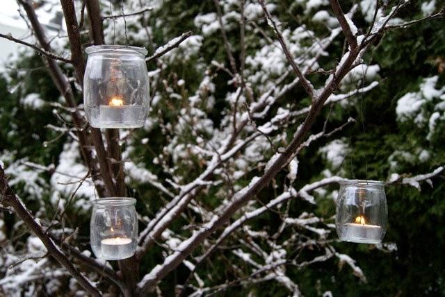 Filz und garten gartenblog feuerkorb und glaslaterne for Gartendeko winter