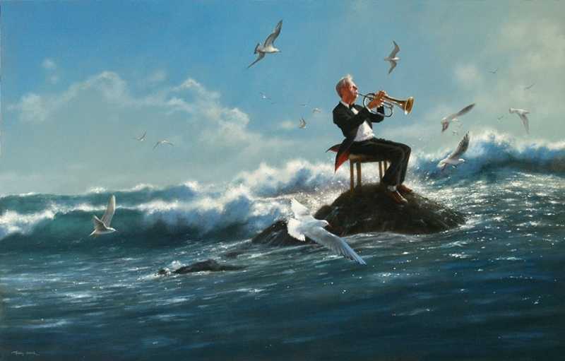 Jimmy Lawlor, 1967 - Irish Surrealist painter