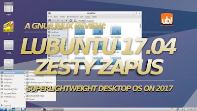 Revisión de Lubuntu 17.04: Escritorio ligero y completo