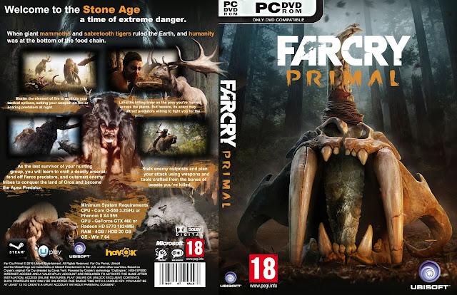 Capa Farcry Primal PC