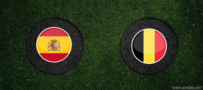 اسبانيا وبلجيكا بث مباشر