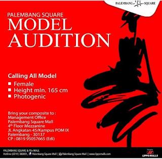 cara mendaftar dan mengikuti audisi palembang square model audition