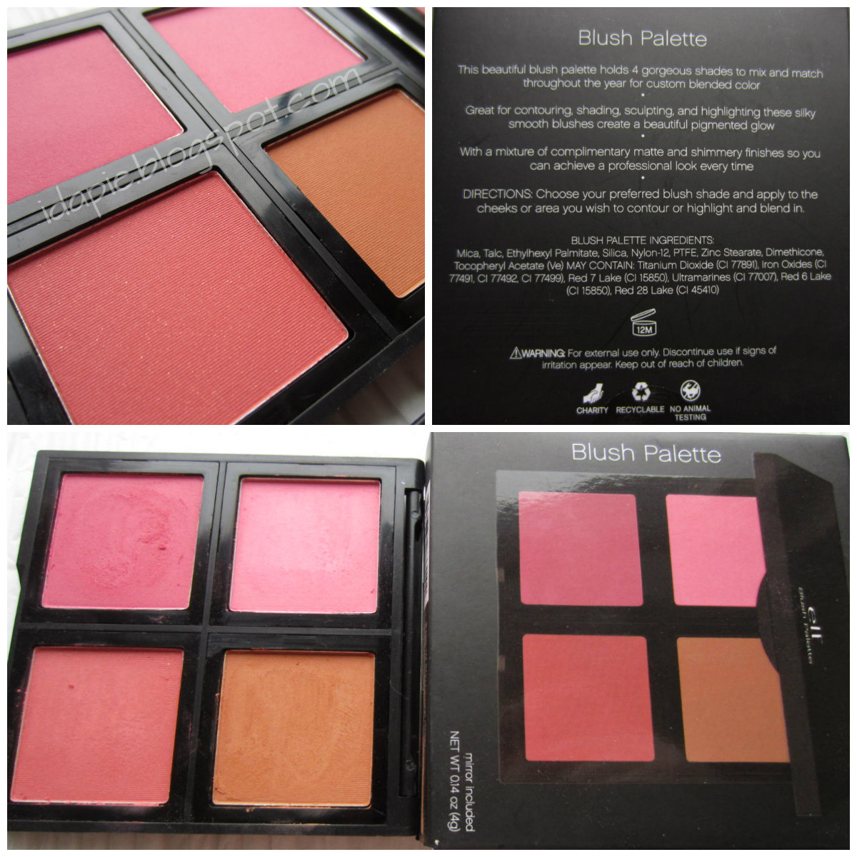 In This Post I Will Be Showing You Swatches Of Blush Palette In Fair Next  Post 20130831_160943 Elf Contour