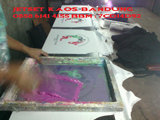 Tempat Sablon Kaos Distro Bandung