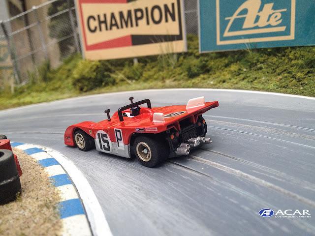 1000km Nürburgring 1971 Ferrari 312PB Jacky Ickx und Clay Regazzoni #15