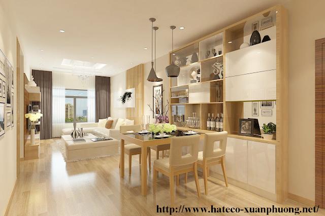 Thiết kế căn hộ tinh tế tai chung cư Xuân Phương