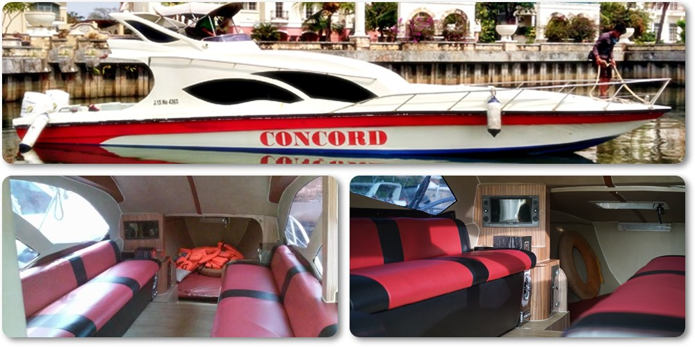 Harga Sewa Kapal Speedboat Concord