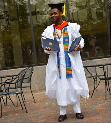 Brilliant Nigerian Graduates From US University With 2 Degrees At Once