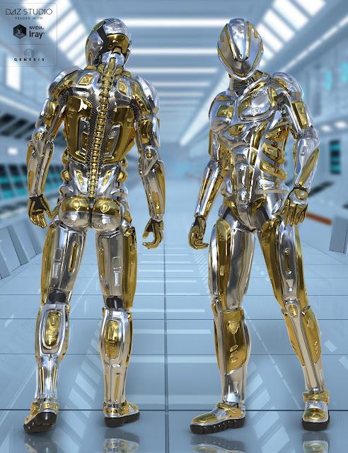 Astraios Ranger for Genesis 3 Male