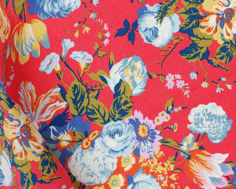 Liberty of London Tana Lawn - Alpine Symphony - Magical Bouquet | © Red Pepper Quilts 2018