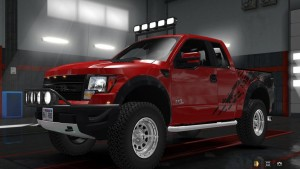 Ford F-150 SVT Raptor v 2.3 & Mini Trailer