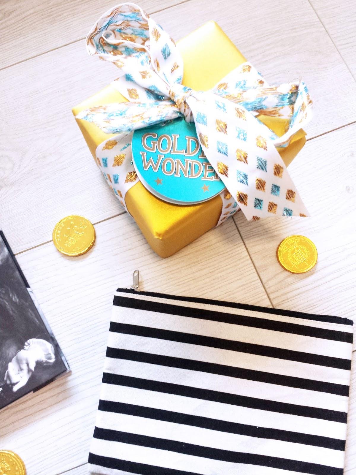 Lush Golden Wonder Gift Box