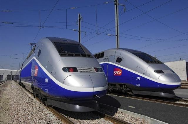 Viagem de trem de Madri a Marselha