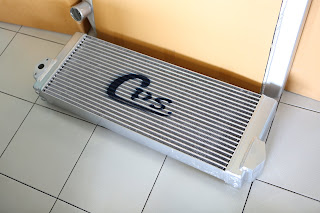 Oil cooler for Komastu PC 138 Model 8 Manufacture by CPS