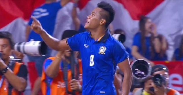 Diwarnai Kartu Merah, Indonesia Kalah dari Thailand dan Gagal Juara