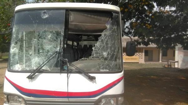 Police Fire Bullets At University of Education Winneba