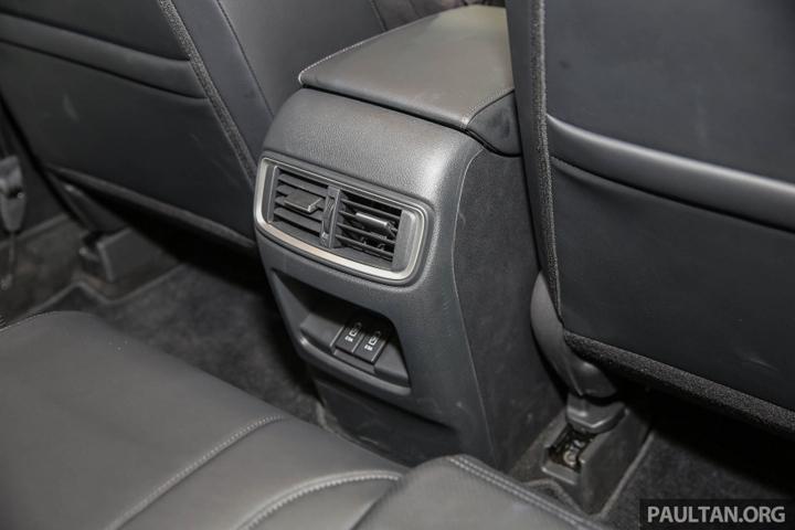 Bahagian Dalaman Kereta Honda CRV 2017 Baharu