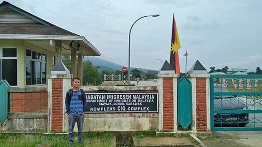 Perbatasan PLBN Aruk Sajingan Kabupaten Sambas