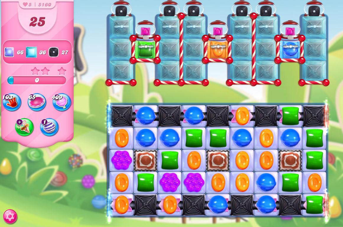 Candy Crush Saga level 5160