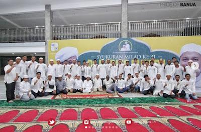 Barito Putera Rayakan Hari Jadi dengan Berselawat di Kediaman Guru Zuhdi