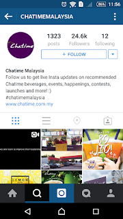 Chatime MY on Instagram