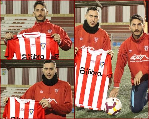 Oficial: El CD Bullense presenta a Oli y Alberto Alonso