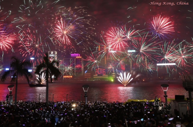 Hong Kong on New Year's Eve