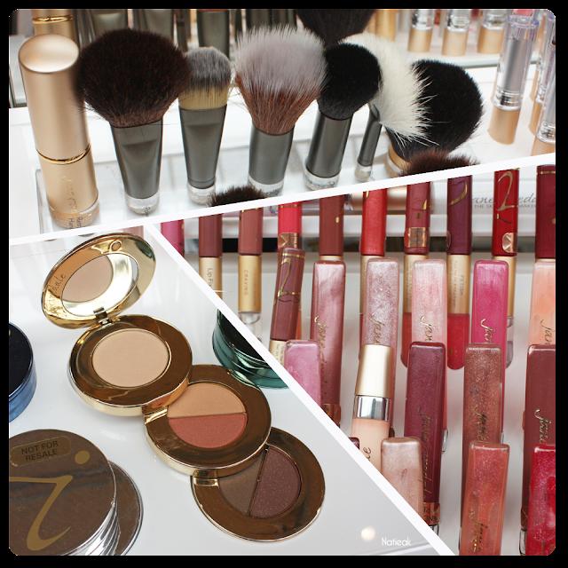 ligne de maquillage 100% minéral de Jane Iredale