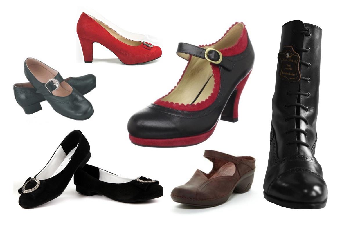 Dirndl Shoes for Oktoberfest