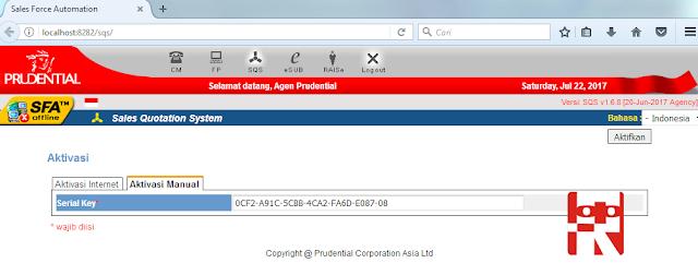 Aplikasi SQS Prudential 1.6.9