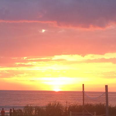 Alexandra & Co, Sauble Beach, Coucher de soleil