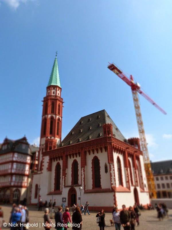 Sehenswürdigkeiten Frankfurt am Main Alte Nikolaikirche am Römerberg