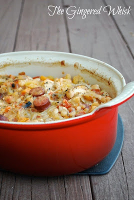 Chicken and Acorn Squash Cassoulet (The Gingered Whisk)