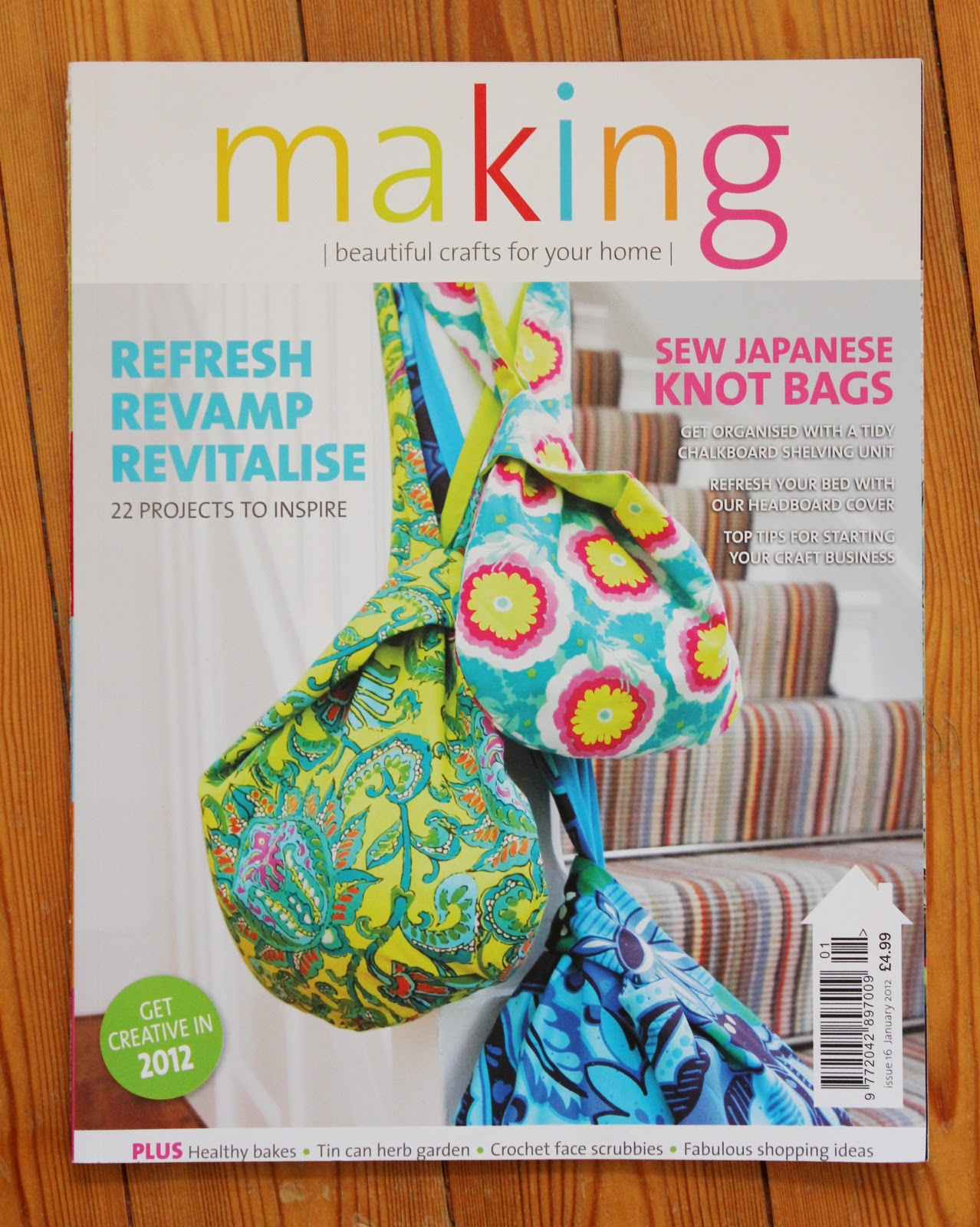 Fluffy Sheep Quilting: Japanese Knot Bag - WHAT!?!?!