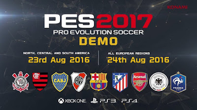 Pro Evolution Soccer 2017 Demo-3