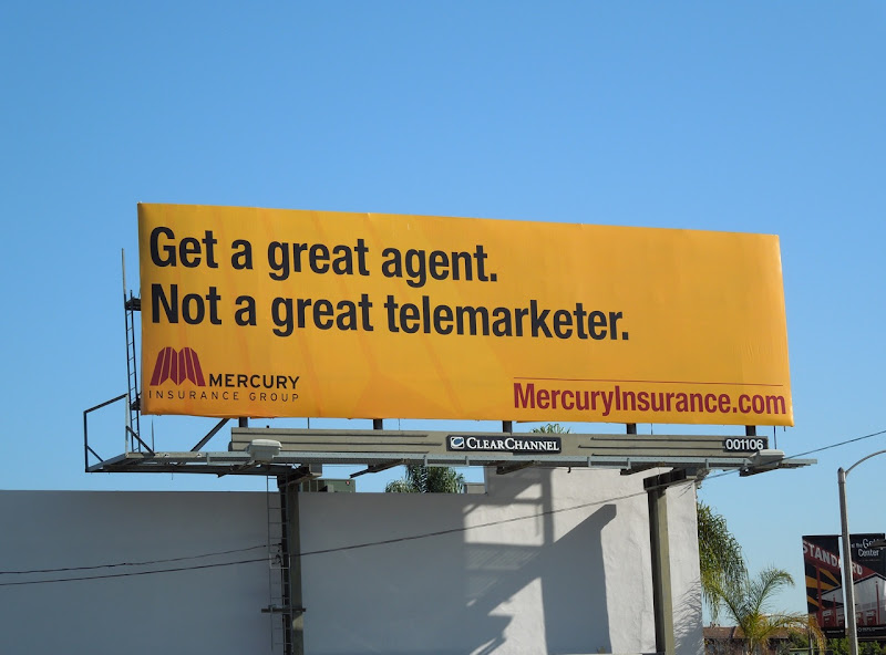 Mercury great agent billboard