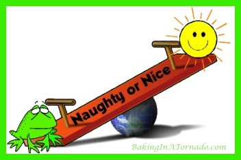 Naughty or Nice | www.BakingInATornado.com | #MyGraphics