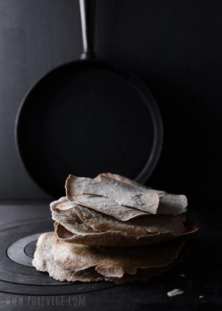 Buckwheat-crisps