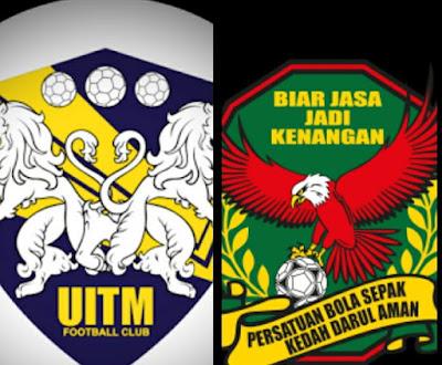 Live Streaming UITM FC vs Kedah Piala Malaysia 7 Julai 2017