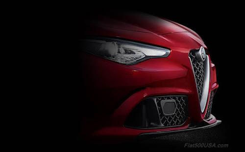 Alfa Romeo Giulia Splitter