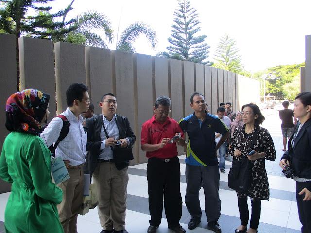 Delegasi Jepang Kunjungi Museum Tsunami Aceh